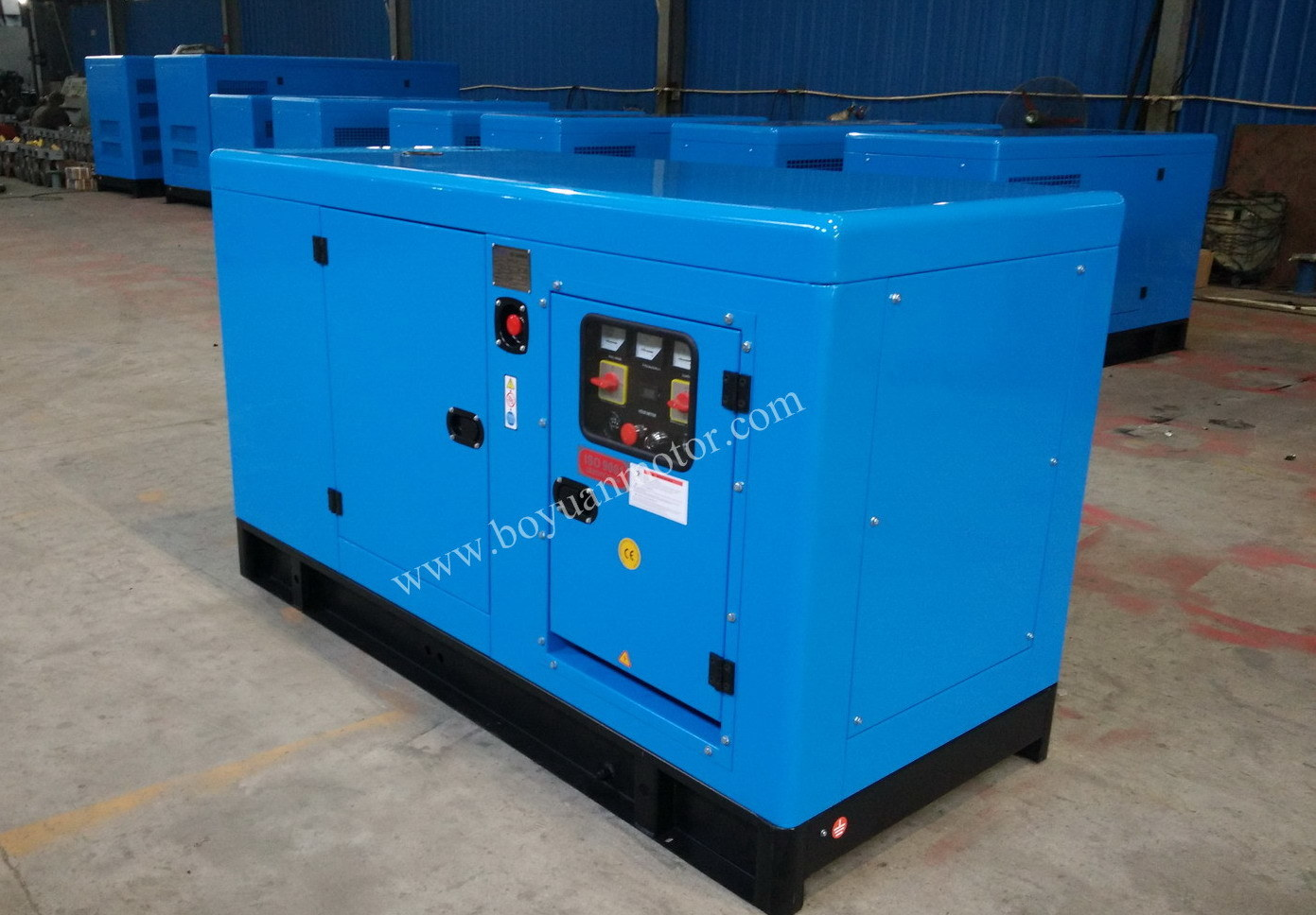 Chinese Engine Electric Soundproof Diesel Generator Set Diesel Engine (20KW~200KW)