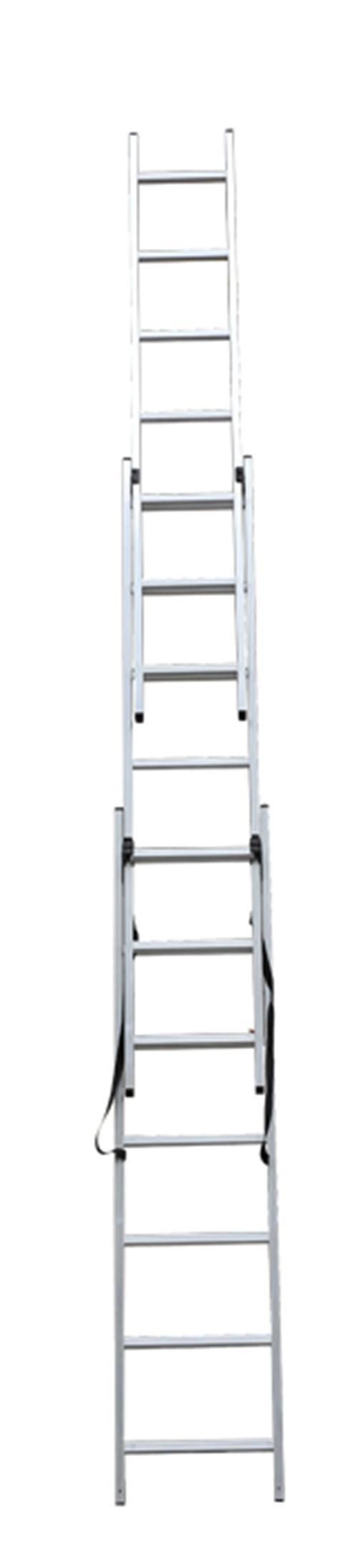 CE/En 131 Approved High Quality 3*9 Extension Ladder