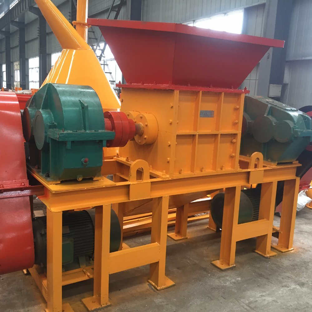 Plastic Shredder. Double Shaft Shredder Machine, Recycling Shredder Machine