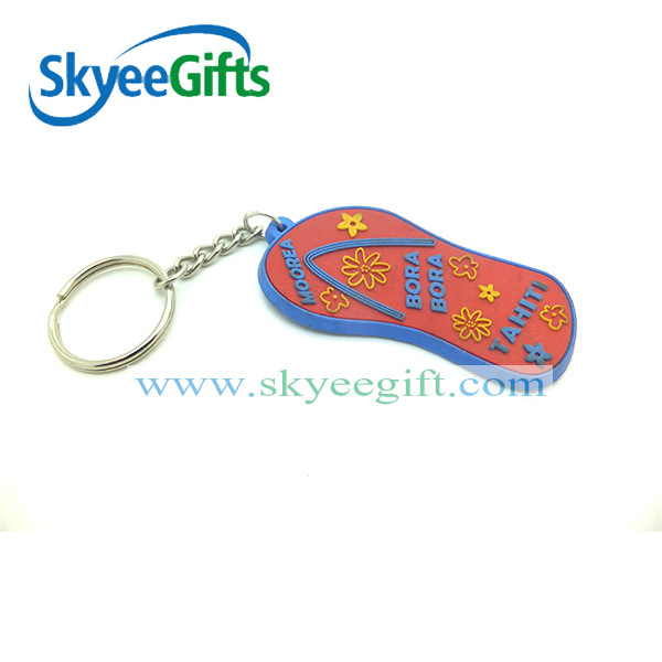 New Design with Custom Promotional Gift PVC Keychain