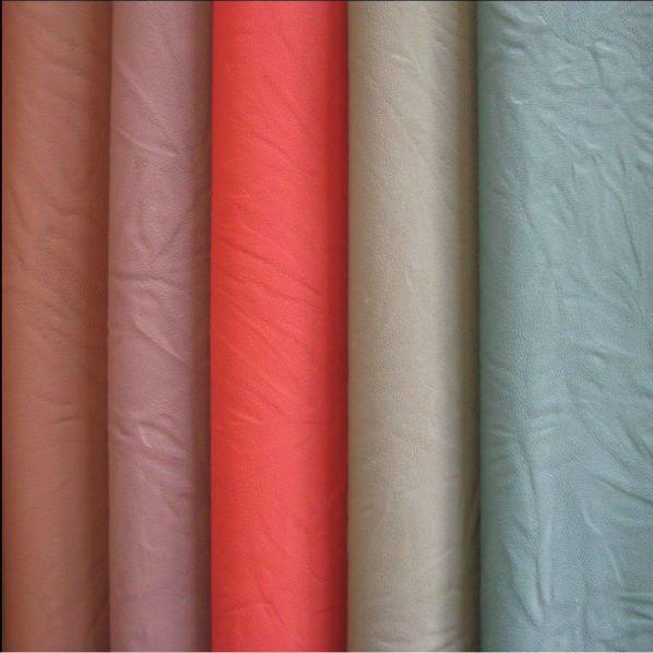 Nice PU Nubuck Leather for Bag 0221