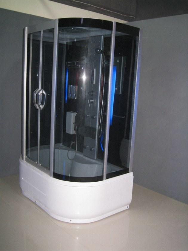 Black Tempered Glass Shower Room (ADL-8309A)