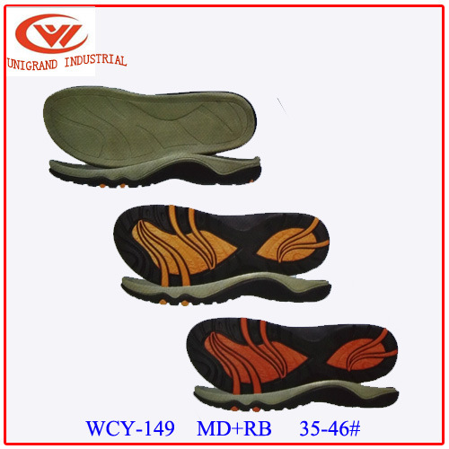 Various Styles Popular Md+Rb Material Series Outsole Sandals Shoes Sole for Shoes Making