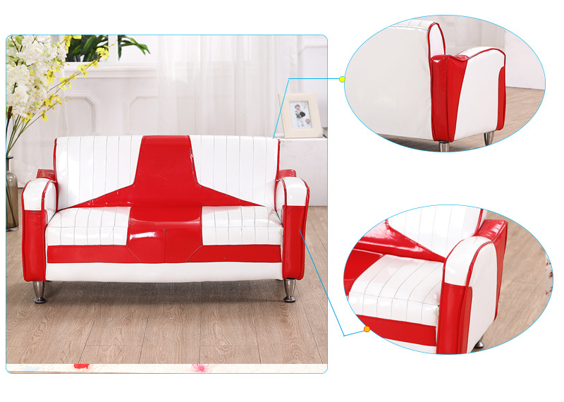 1+2 Home Sofa Set / PVC Leather Kids Furniture