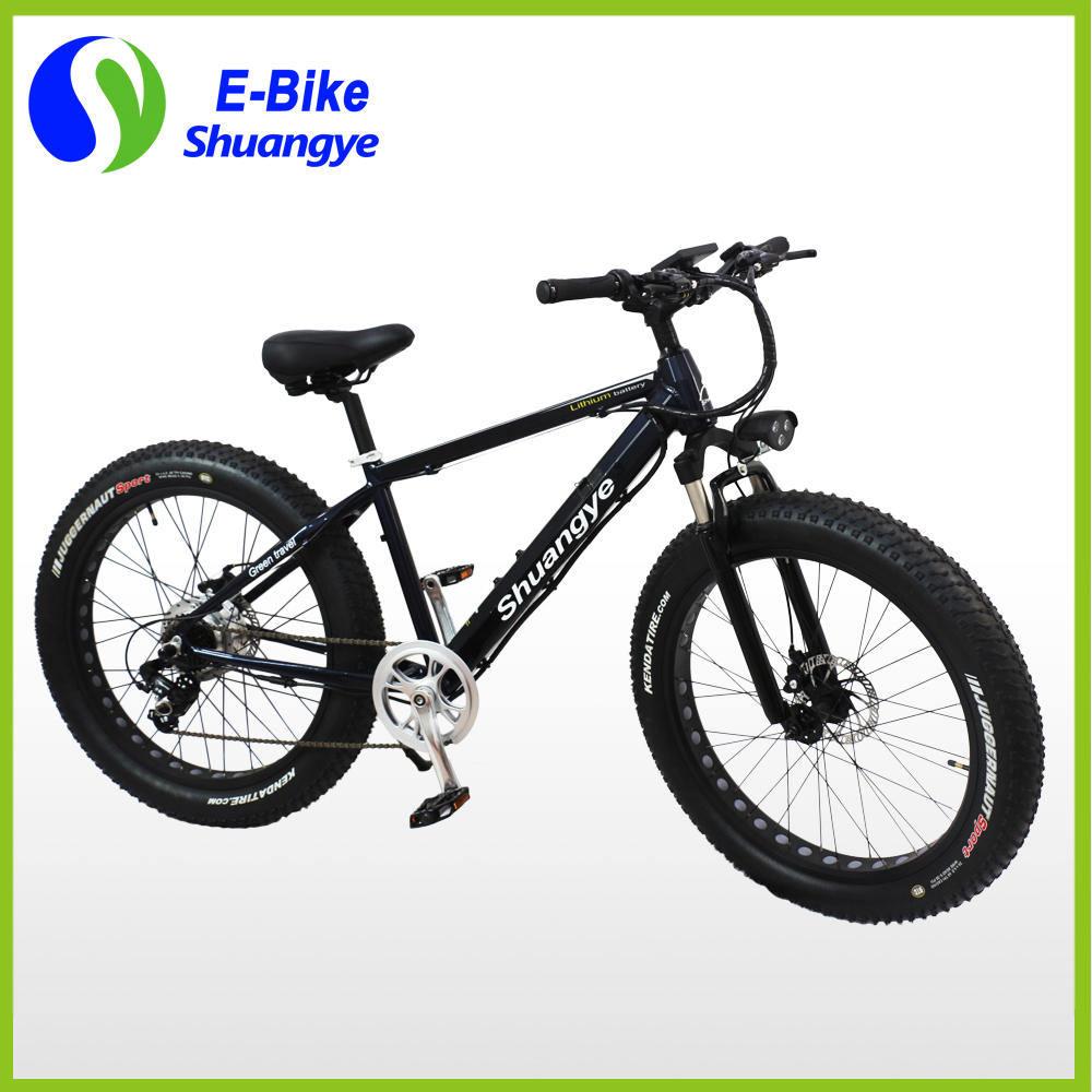 New Design 250W Factory Hidden Battery Electric Fat Bike