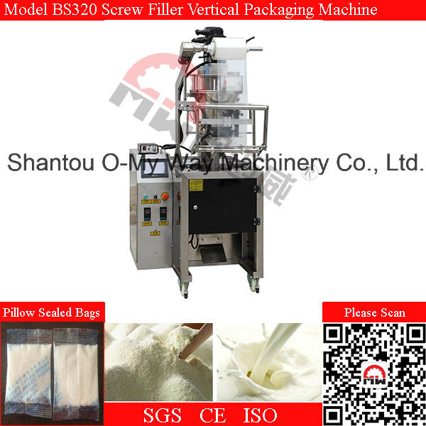 Fine Powder Screw Filler Automatic Packing Machine
