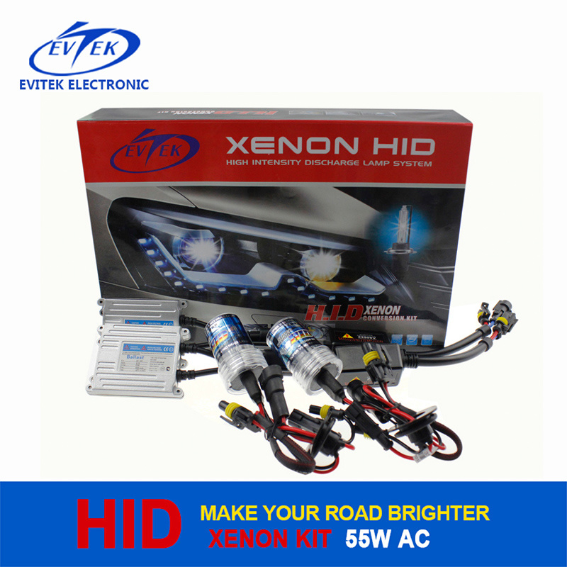HID Xenon Conversion Kit with 55W AC Slim Ballast