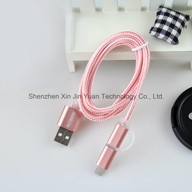 1m Nylon Insulated Micro USB Cable Charger and Data Sync Cable for Andriod Mobile