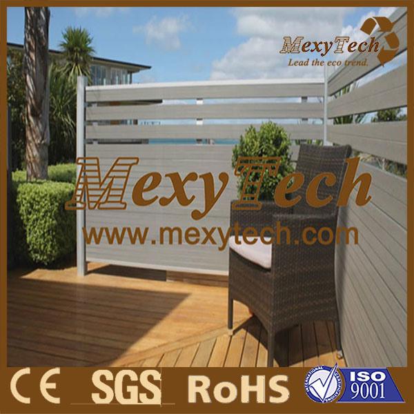Wood Plasitc Composite (WPC) Garden Fence