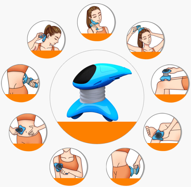 Multi-Function Mini Head Massage Equipment Handheld Massager