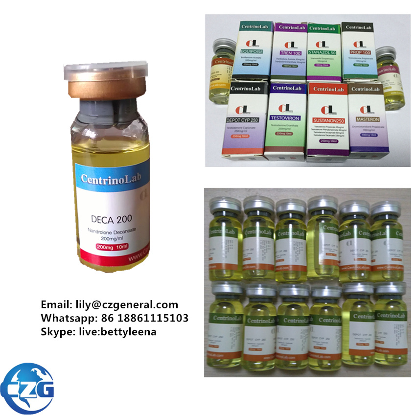 Injection Steroid 200mg/10ml Liquid Nandrolone Decanoate for Bodybuilding
