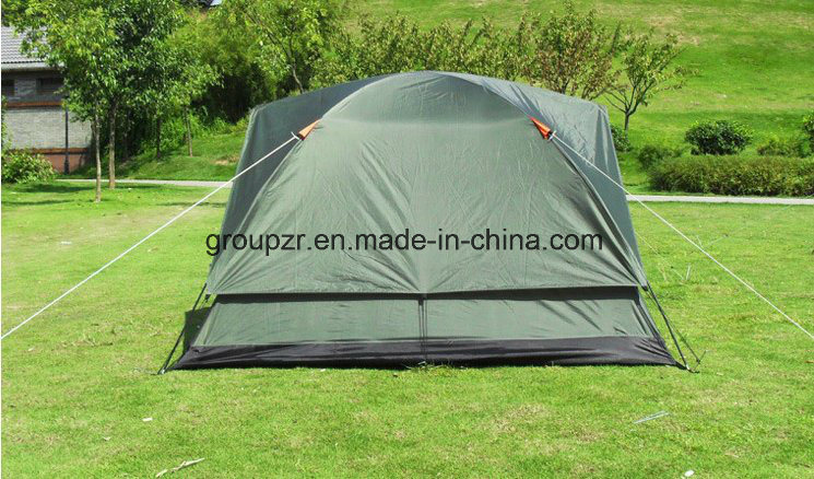 4 Persons Double Layers Camping Tent with Cover