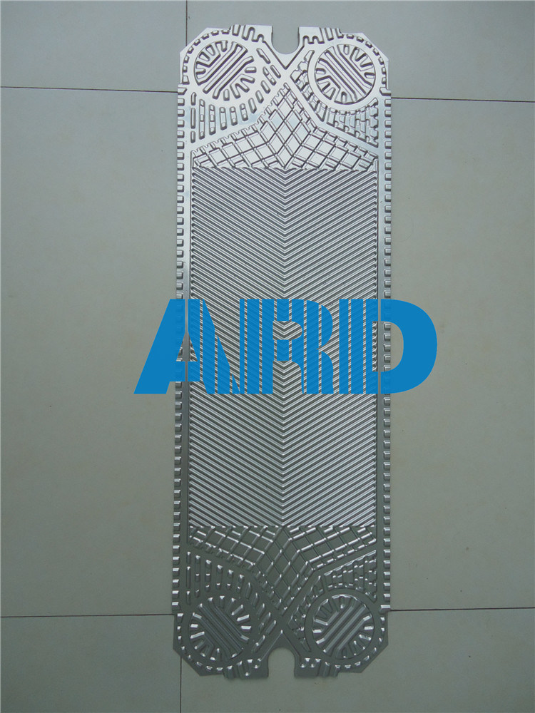 Plate Heat Exchanger Plate Alfa Laval M6 Plate Titanium Stainless Steel