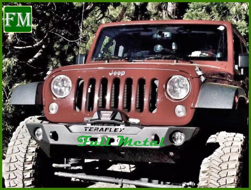 for Jeep Unlimited Jk Black Front off Road Guard Steel