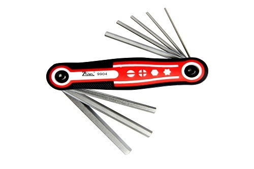 8PCS Foldable Multi-Purpose Screwdriver Wrench Set