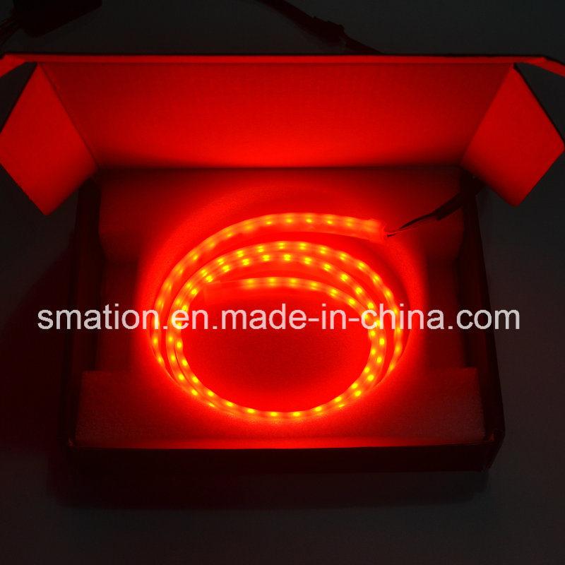 Car LED Rear Tail Box Case Flow LED Strip Turn Signal Brake Tailgate Tail Light