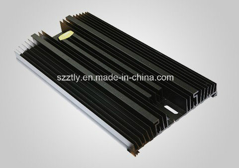 Aluminum/Aluminum Extrusion/Extruded Heatsink by Anodizing/Powder Coating etc