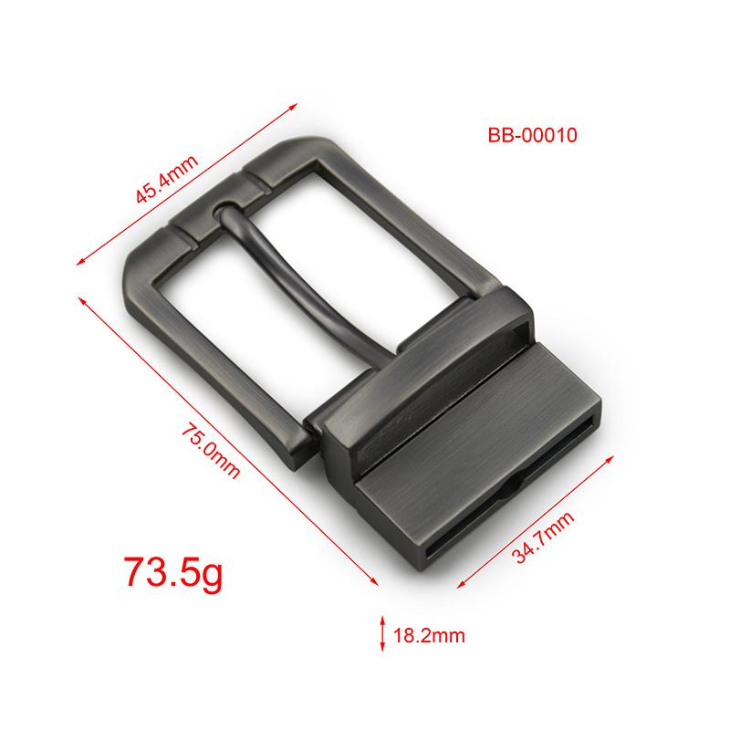 2017 Factory Sale Leather Belt of Metal Belt Fastener