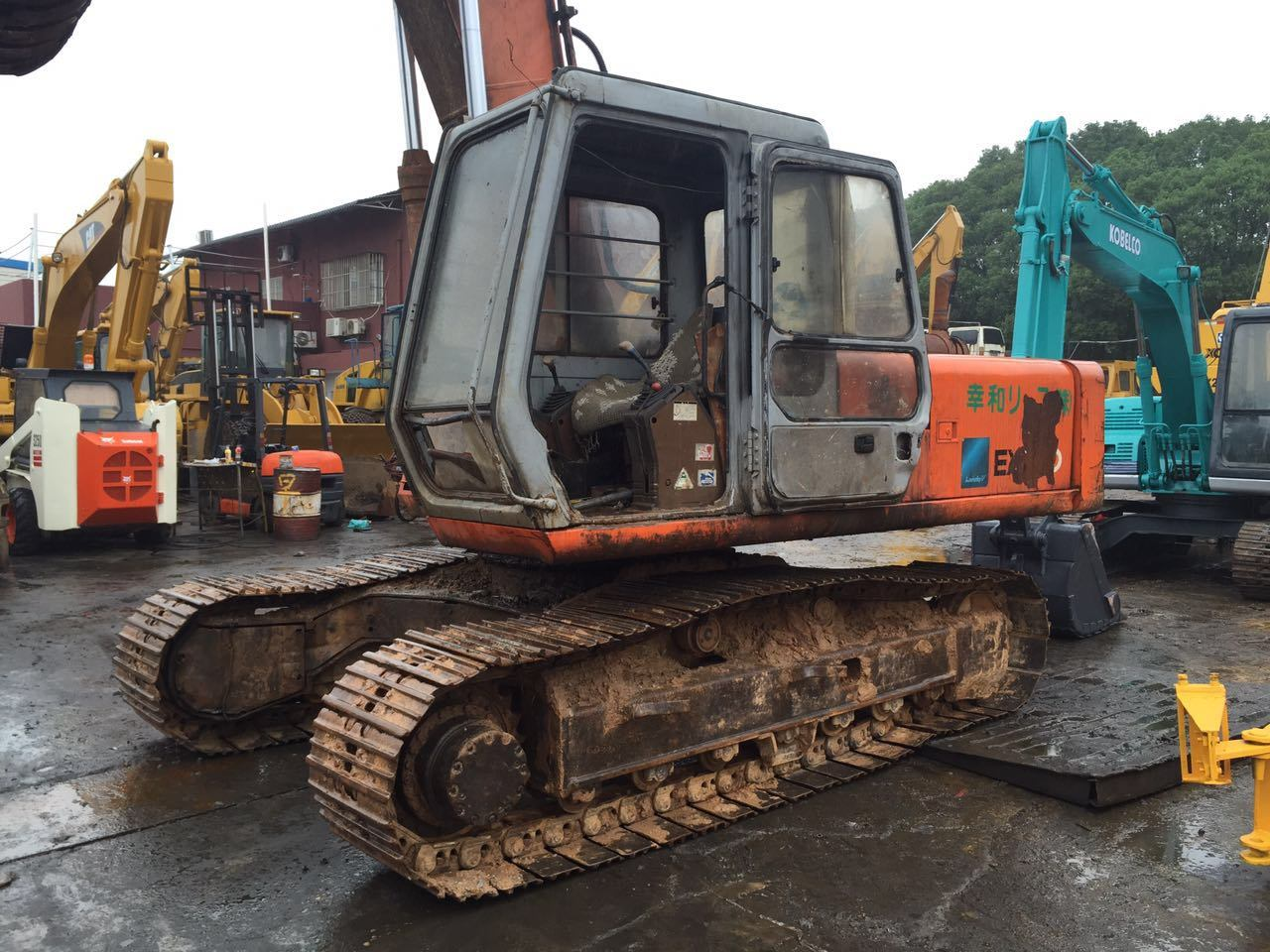 Used Hitachi Excavator Ex200-1 Construction Machinery for Sale