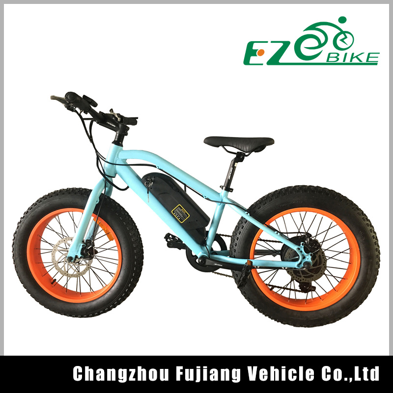 Chinese 20inch Fat Tire Beach Cruiser Electric Fat Bicycle