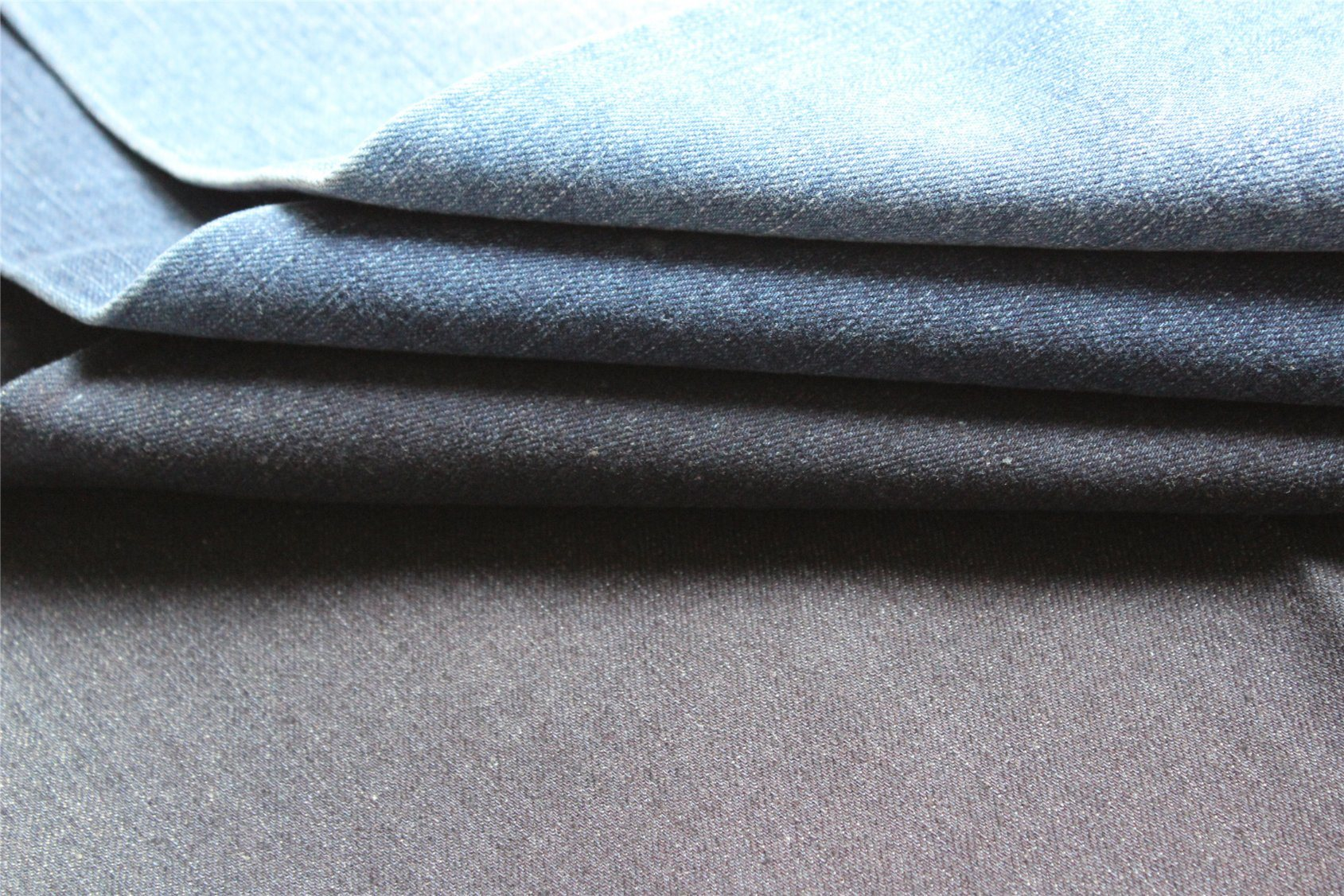 Heavy Weight Cotton Spandex Denim Fabric for Men′s Jeans and Jacket