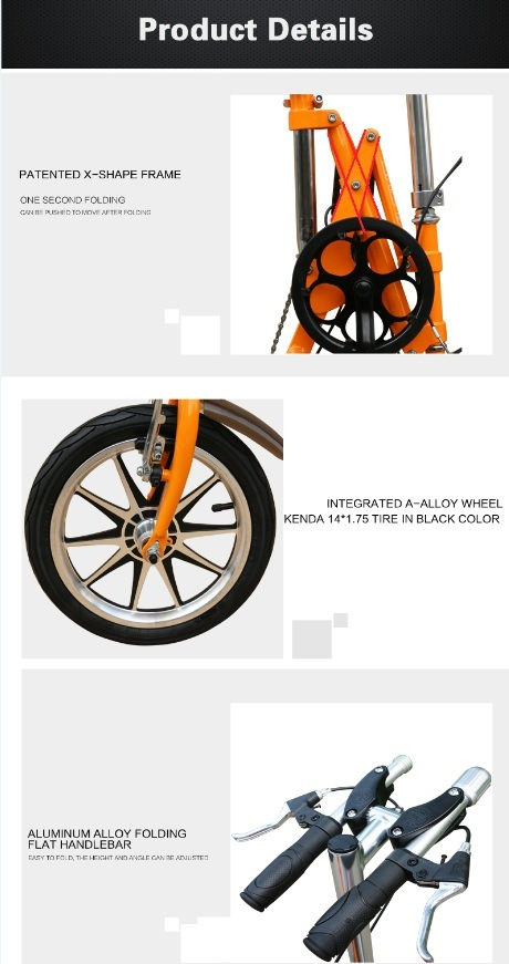 14 Inch Foldable Mountain Bike