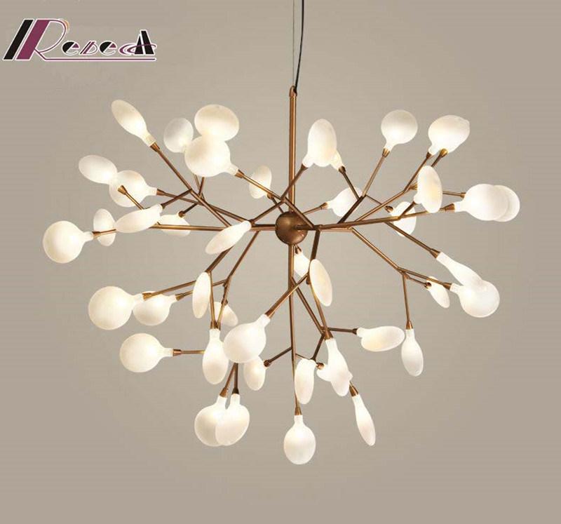 Modern Light Tree Branch LED Pendant Lamp for Washroom