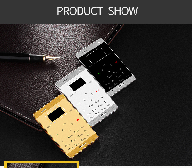 Wholesale M3 Mini Mobile Phone in Credit Card Size