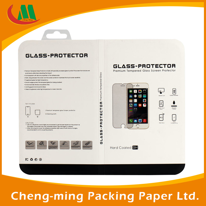 Custom Plastic Clear Cosmetics Gift Packing Box with PVC Window