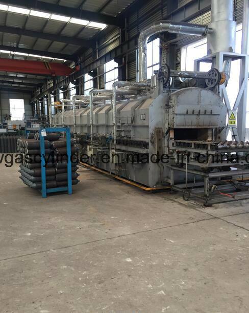 40L High Pressure Seamless Steel Gas Cylinders