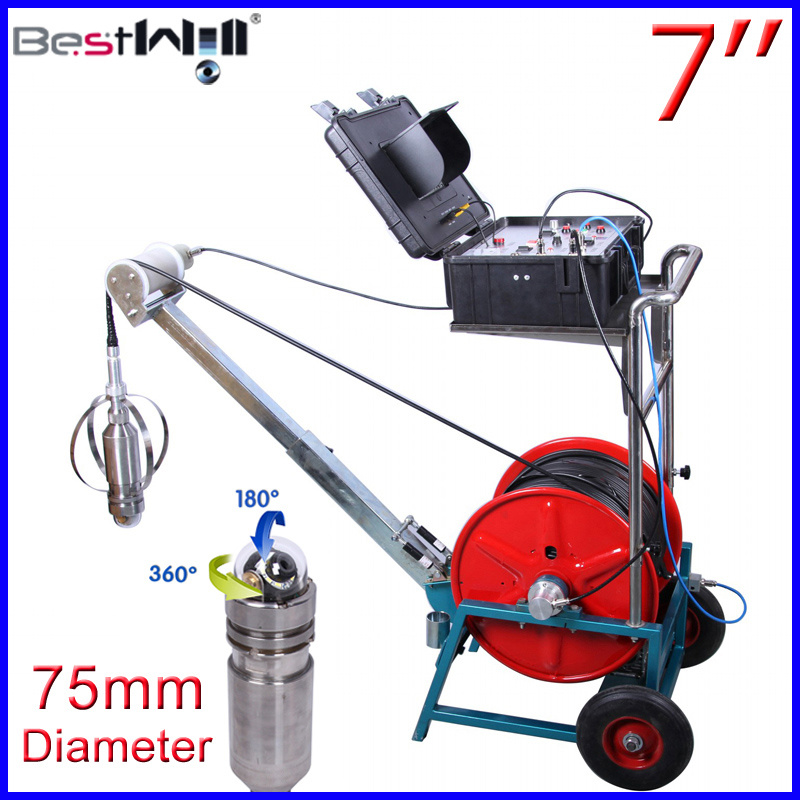 Deep Well Inspection Camera Cr110-7na with 75mm Diameter Camera with 120m to 3000m Cable