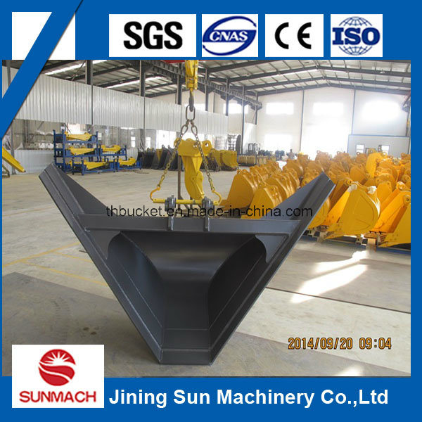 Excavator Trapezoidal Bucket for Ditching Canal