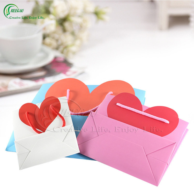 Colorful Printed Packaging Paper Bags for Clothing/Gift/ Cosmetic (KG-PB035)