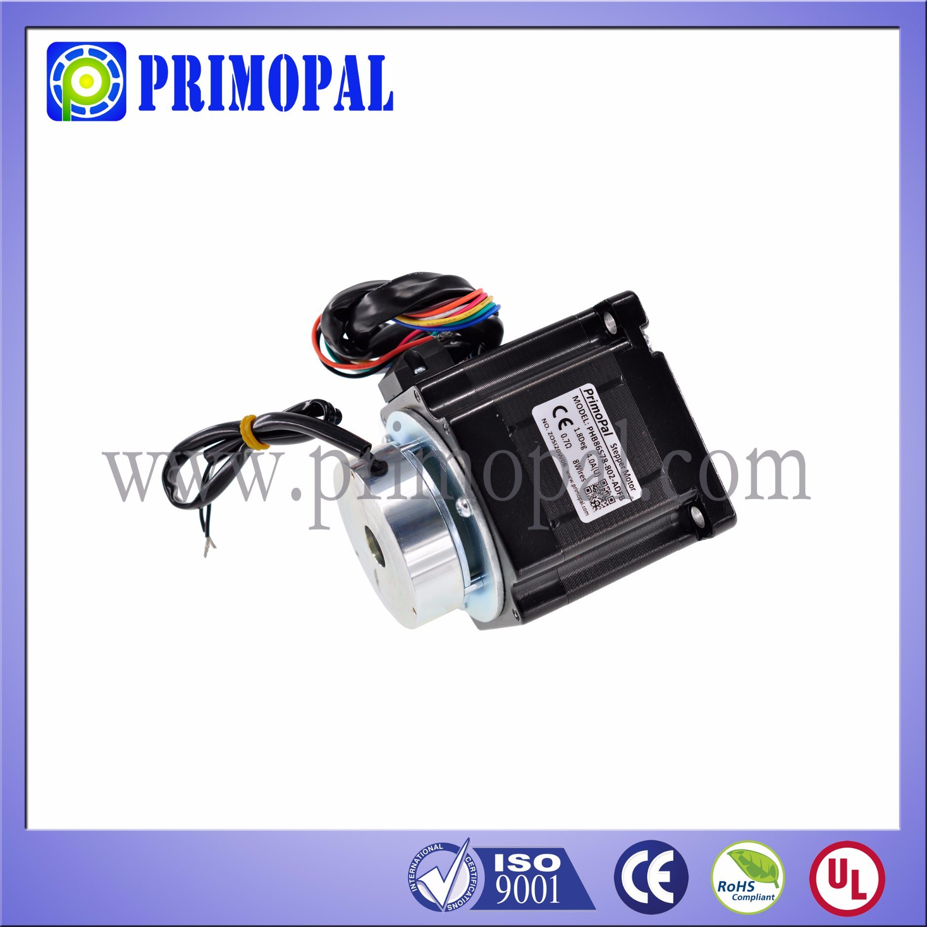 OEM NEMA 34 Stepper Motor with High Quality