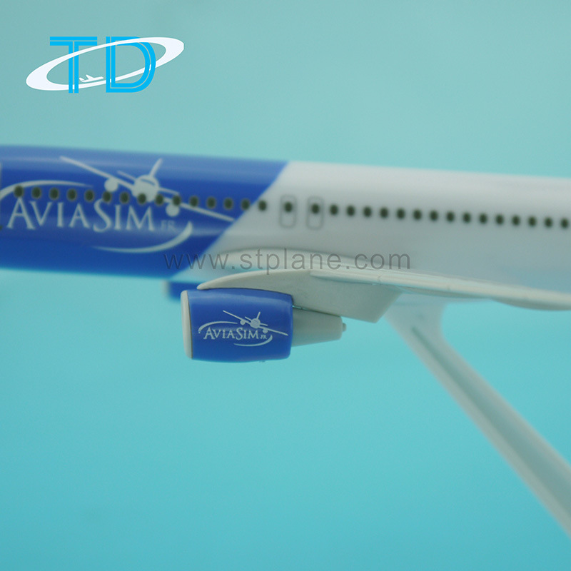 Custom Printing A320 Aviasim 18.8cm Scale 1: 200 Model Aircraft Advertising Gift