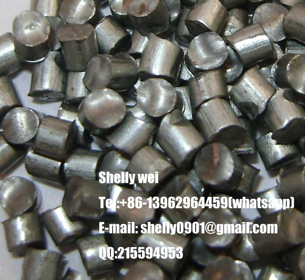 Zinc Shot / Zinc Abrasive / Zinc Cut Wire Shot / Zinc Conditioned Cut Wire Shot / Stainless Steel Shot / Cut Wire Shot