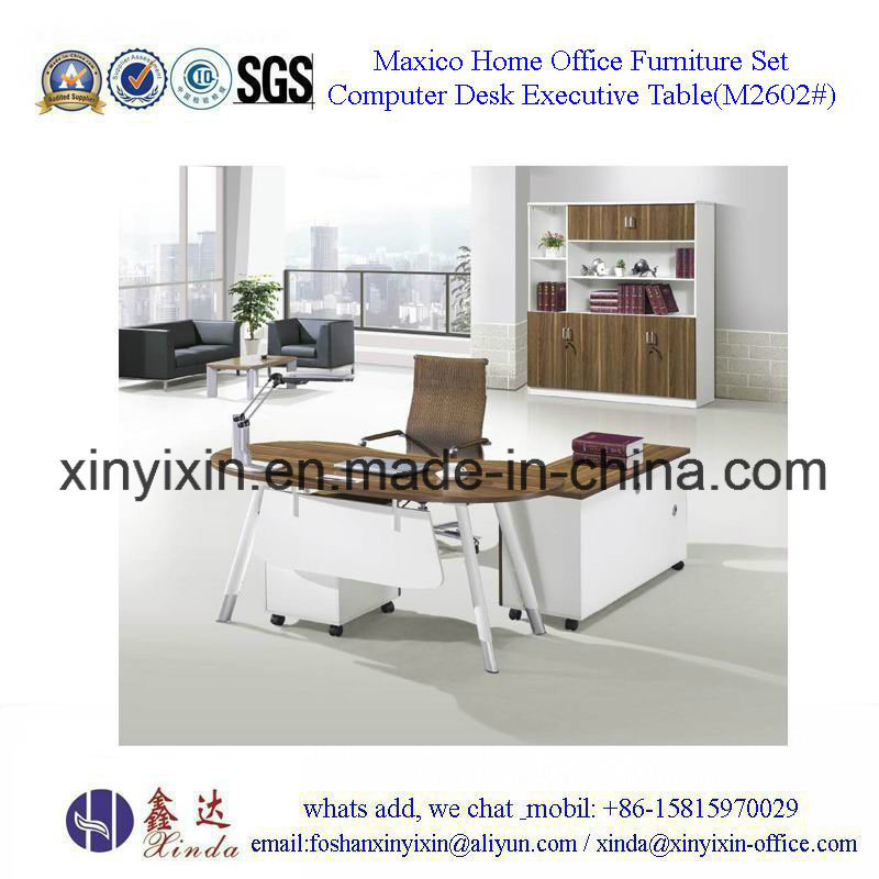 Modern Office Executive Desk From China Furniture Factory (M2601#)