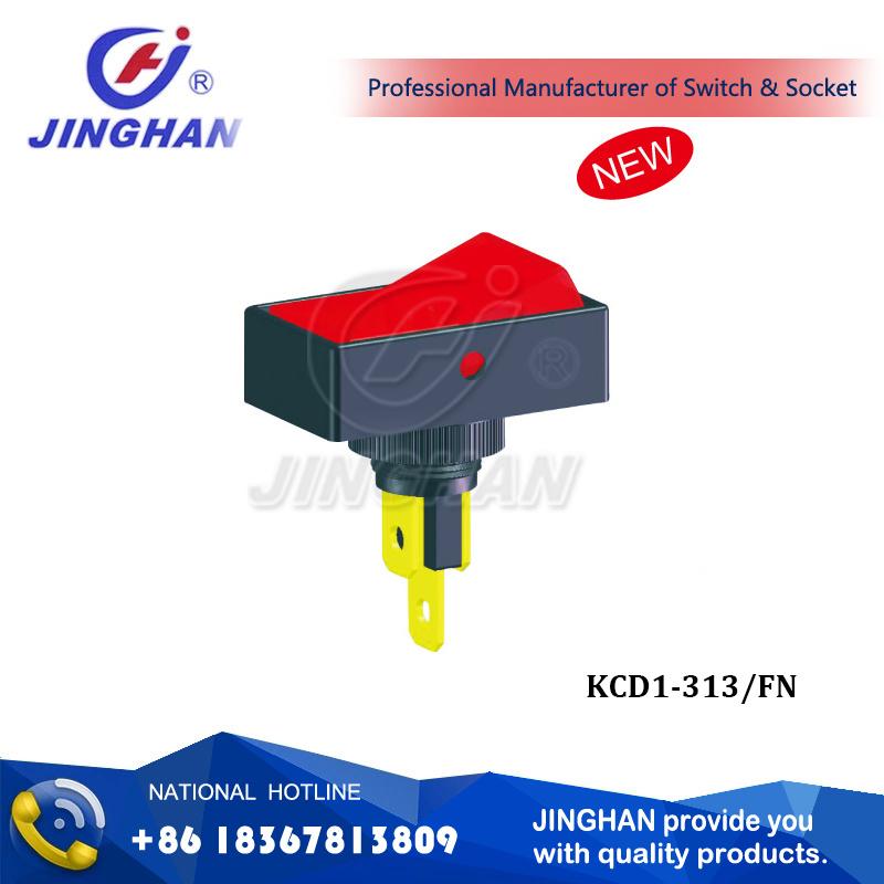 Kcd1-313/Fn on-on Rocker Switch 34*20mm
