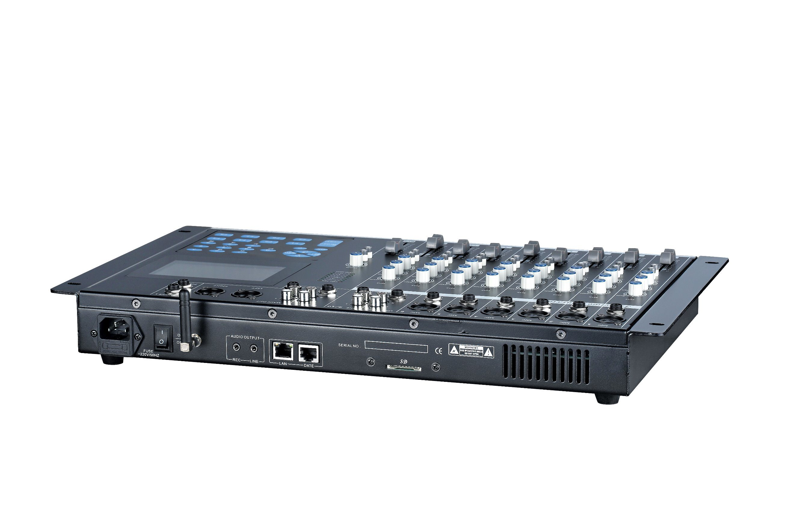 Se-5805 IP Network PA System Audio Mixer