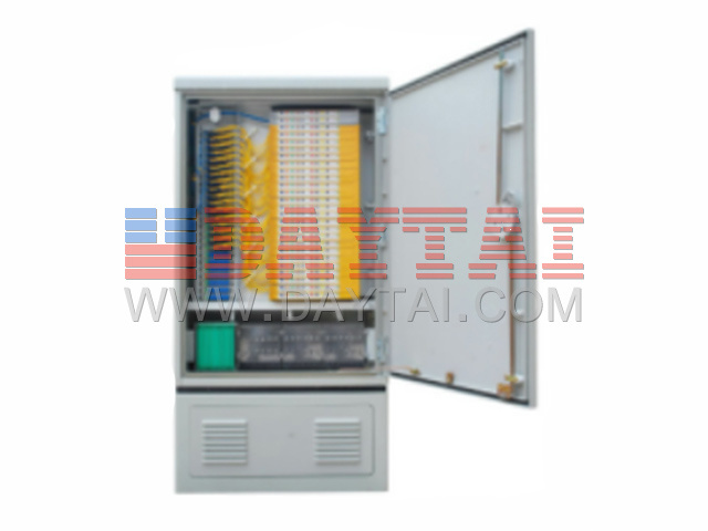 144 Core Outdoor Street Fiber Optic Cross Connect Cabinet
