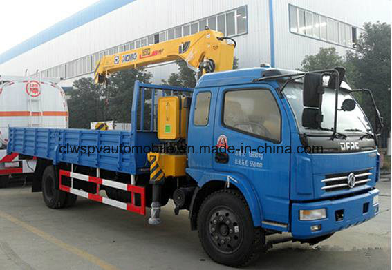 4 Tons Lifting Lorry Truck with Crane 8t Wrecker with Crane Truck