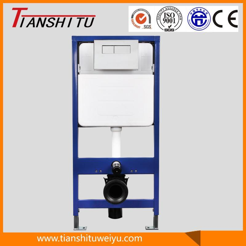 T100A in-Wall Cistern Watermark Concealed Cistern for Wall-Hung Toilet Dual Flush Water Tank Cistern
