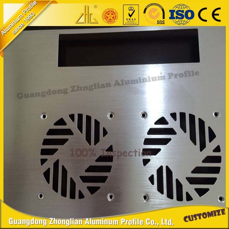 High Precision CNC for Aluminum Extrusion Aluminum Parts