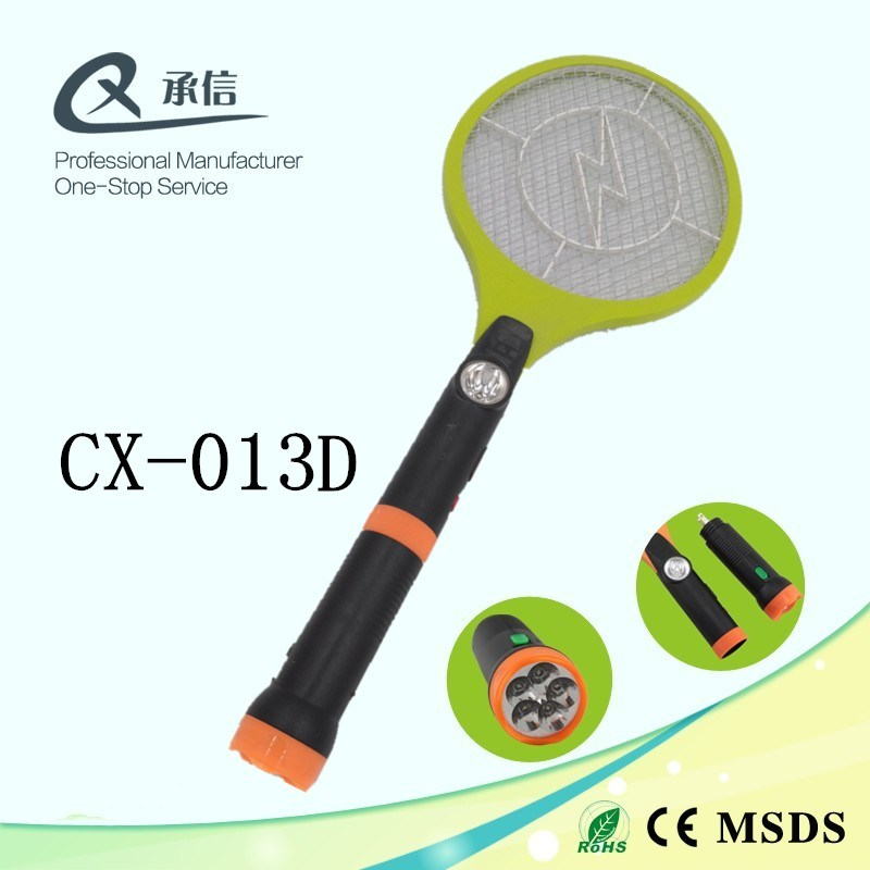 Durable Hot Mosquito Repellent Fly Killer Bat, Cockroaches Insect Zapper Swatter with LED & Torch
