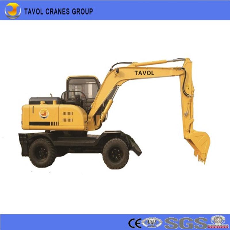 Mini Wheel Excavator for Sugarcane Market