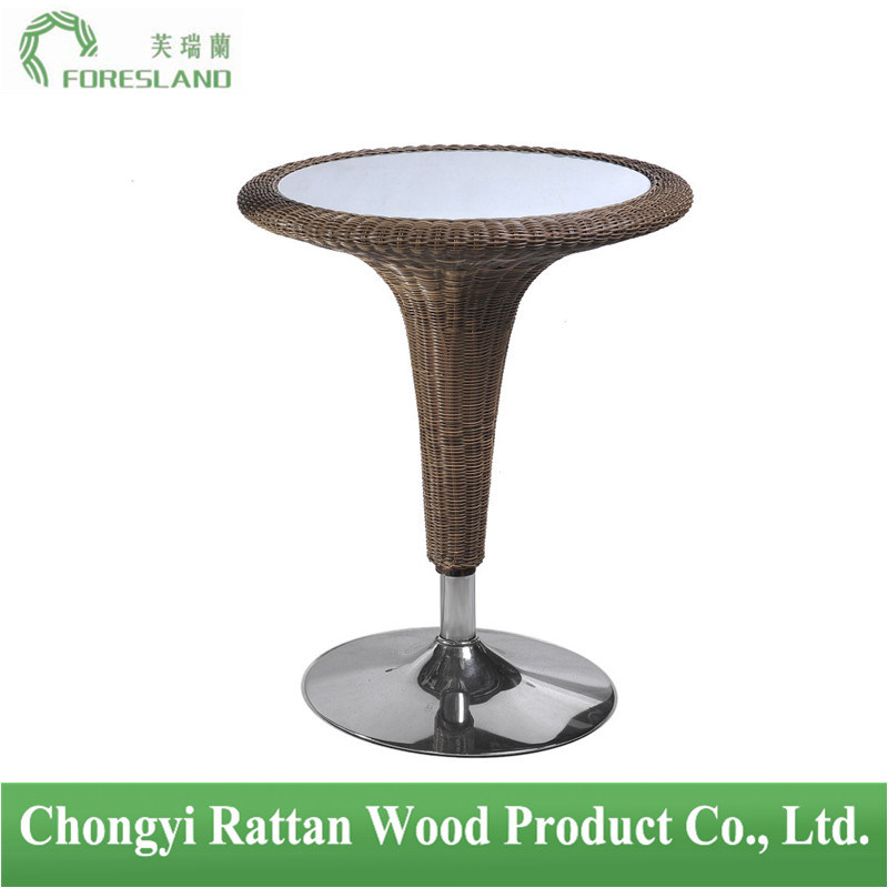PE Rattan Weaving Bar Table PT-01