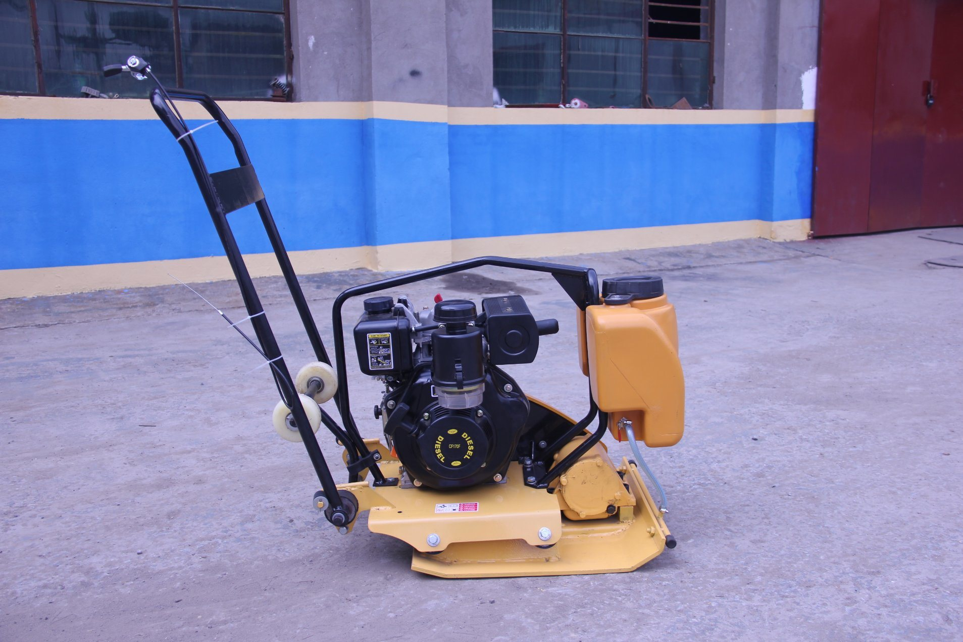 Road Makeing Machine Vibrating Plate Compactor