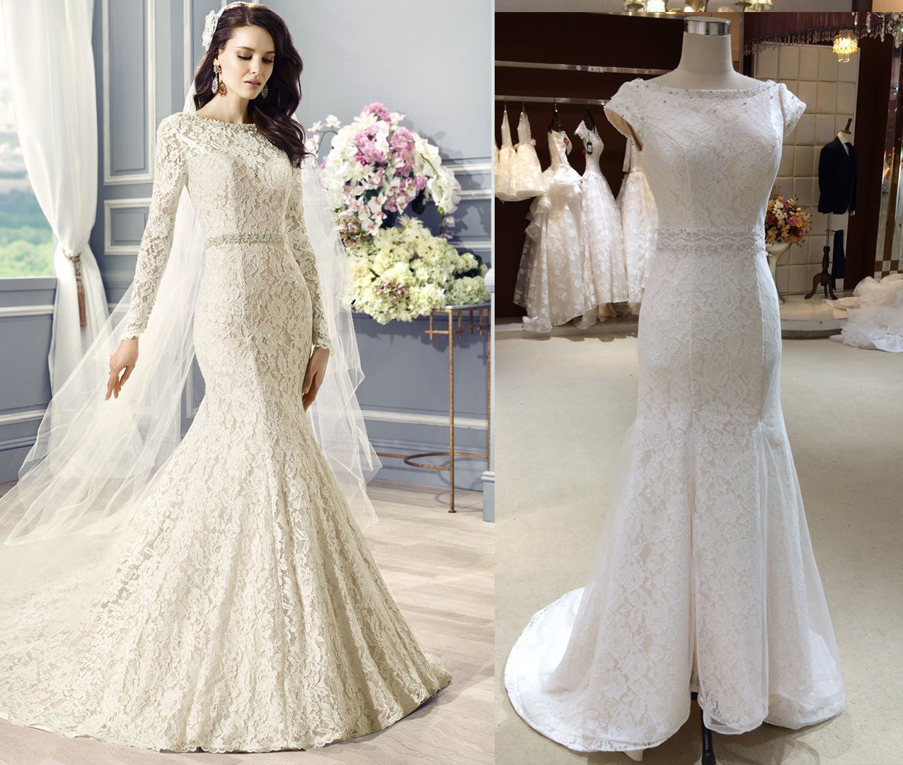 Be Spoke Wedding Gown Custom Made by Photo