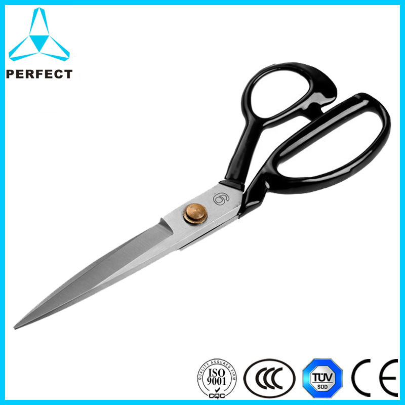 Plastic Handle and Stainless Steel Blade Hand- Made Tailor Scissors