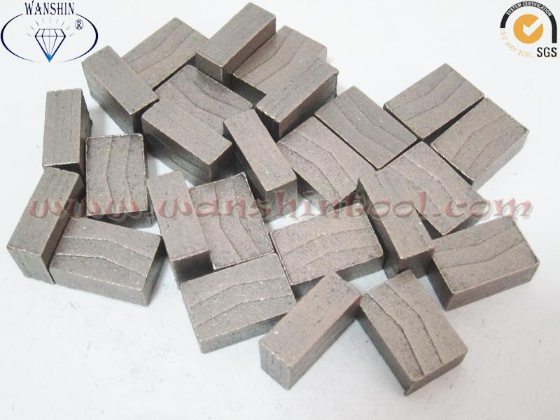 Fast Cutting Granite Diamond Segment for Multiblade Cutter